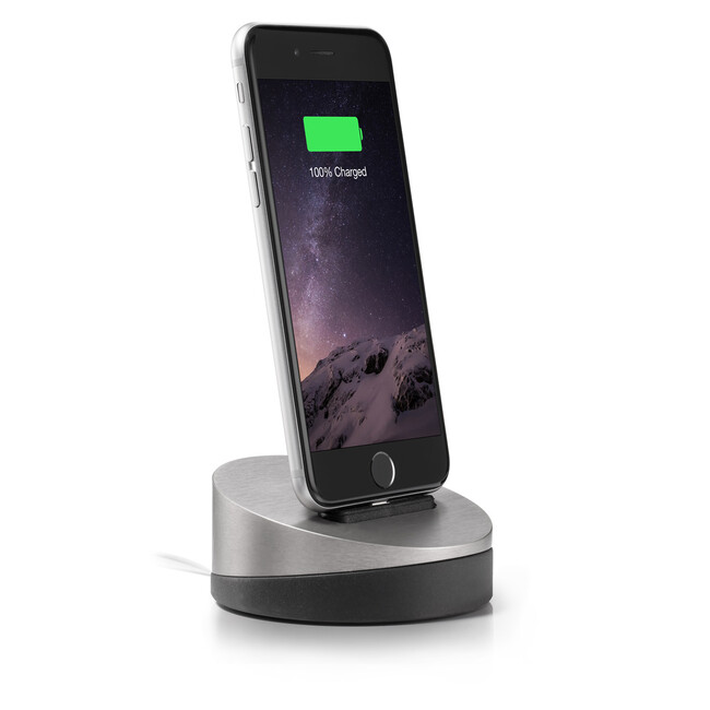 Док-станция Lead Trend Z-Dock Iron Gray для iPhone 6/6s/5s, iPad, iPod