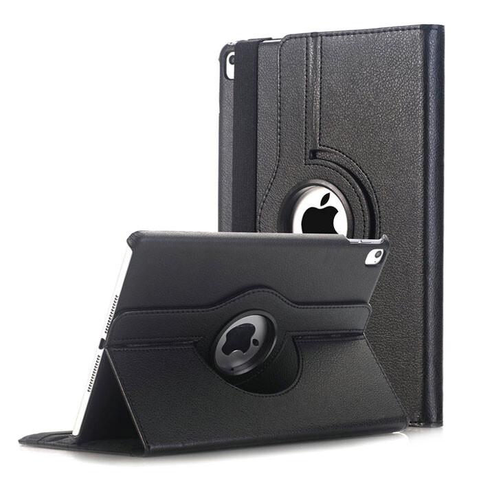 "Кожаный чехол 360 Rotating Black для iPad Pro 9.7"""