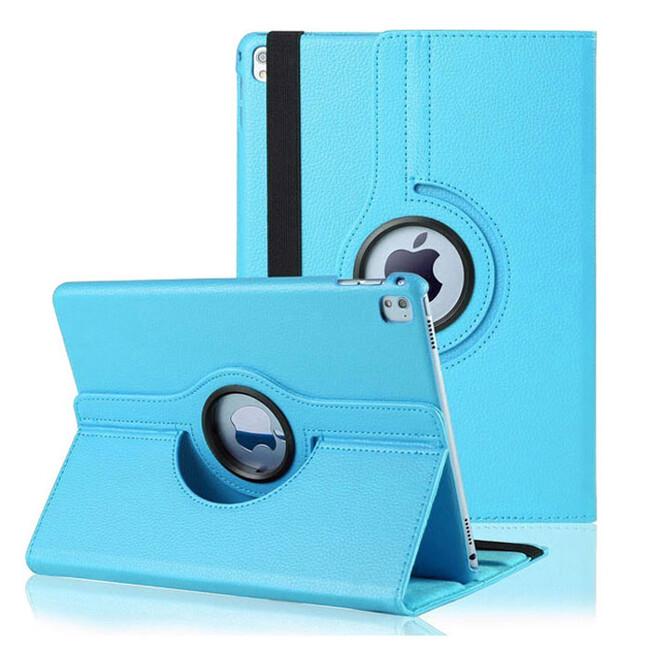 "Кожаный чехол 360 Rotating Blue для iPad Pro 9.7"""