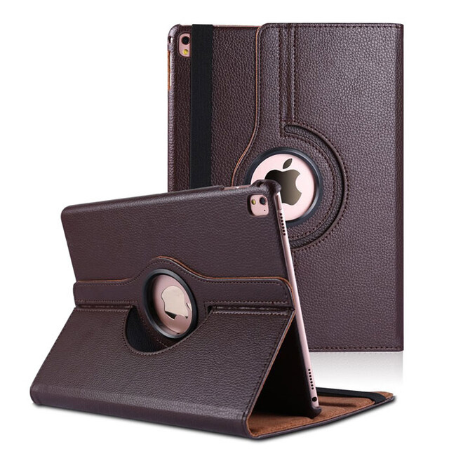 "Кожаный чехол 360 Rotating Brown для iPad Pro 9.7"""
