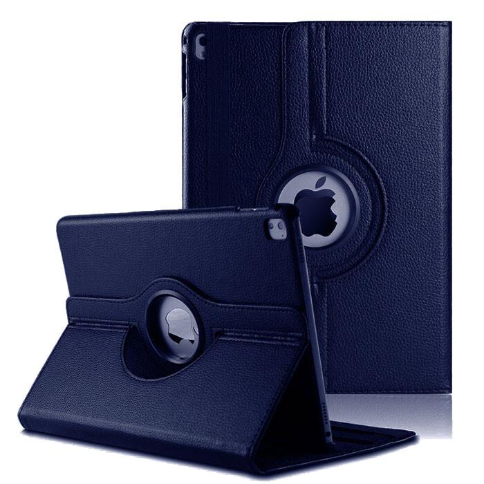"Кожаный чехол 360 Rotating Dark Blue для iPad Pro 9.7"""