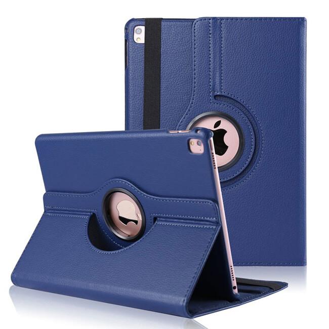 """Кожаный чехол 360 Rotating Gem Blue для iPad Pro 9.7"""""""