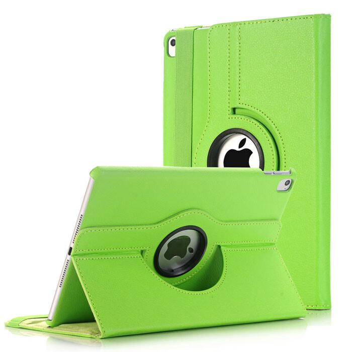 "Кожаный чехол 360 Rotating Green для iPad Pro 9.7"""