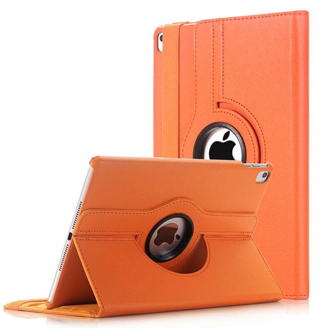 """Кожаный чехол 360 Rotating Orange для iPad Pro 9.7"""""""