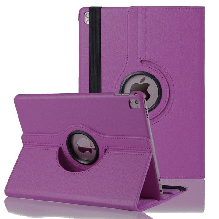 """Кожаный чехол 360 Rotating Purple для iPad Pro 9.7"""""""