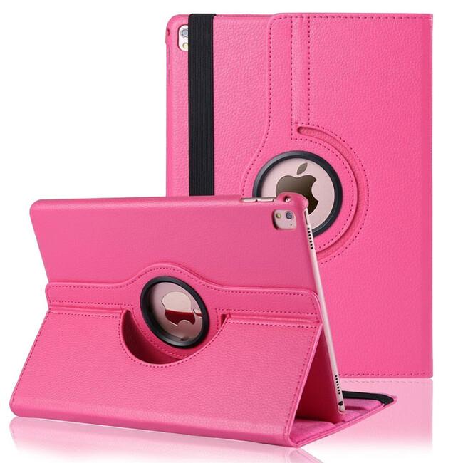 "Кожаный чехол 360 Rotating Red Rose для iPad Pro 9.7"""