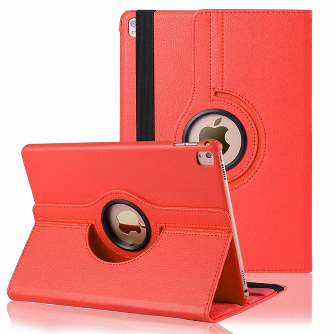 "Кожаный чехол 360 Rotating Red для iPad Pro 9.7"""
