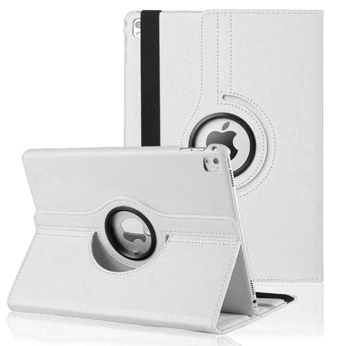 "Кожаный чехол 360 Rotating White для iPad Pro 9.7"""