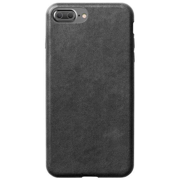 Кожаный чехол Nomad Leather Case Slate Gray для iPhone 7 Plus   8 Plus (Уценка)