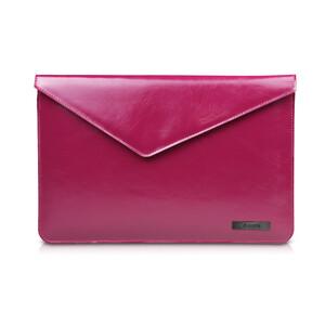 """Купить Кожаный чехол d-park Architect Purple для Macbook 12"""""""