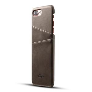 Купить Кожаный чехол с отделениями для карт Super Gray для iPhone 7 Plus