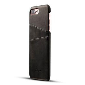 Купить Кожаный чехол с отделениями для карт Super Black для iPhone 7 Plus