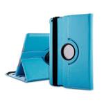 Кожаный чехол 360 oneLounge Rotating для iPad mini 3/2/1 Голубой