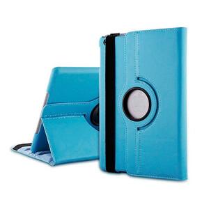 Кожаный чехол 360 Rotating для iPad mini 3/2/1 Голубой
