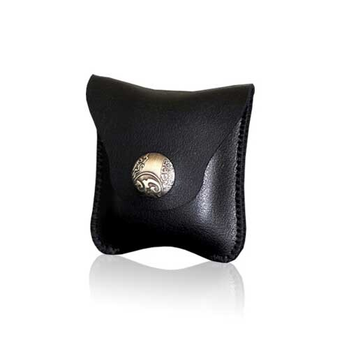 Черный кожаный чехол для наушников oneLounge Apple AirPods