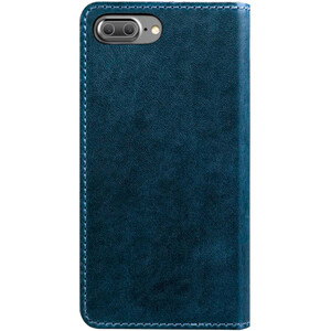 Купить Кожаный флип-чехол Nomad Leather Folio Wallet Midnight Blue для iPhone 7 Plus/8 Plus