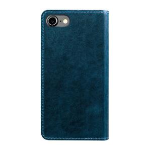 Купить Кожаный флип-чехол Nomad Leather Folio Wallet Midnight Blue для iPhone 7/8