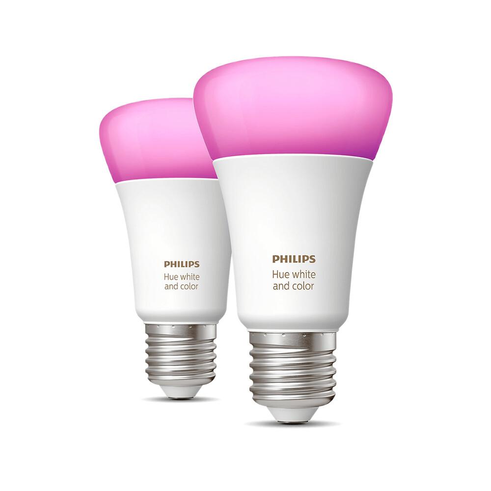 Купить Умная LED лампочка Hue White & Colour Ambiance E27 HomeKit (2 шт.)