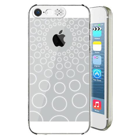 LED чехол VanD Bubbles для iPhone 5/5S/SE