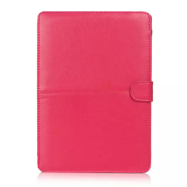 """Розовый кожаный чехол Leisure для MacBook 12"""""""