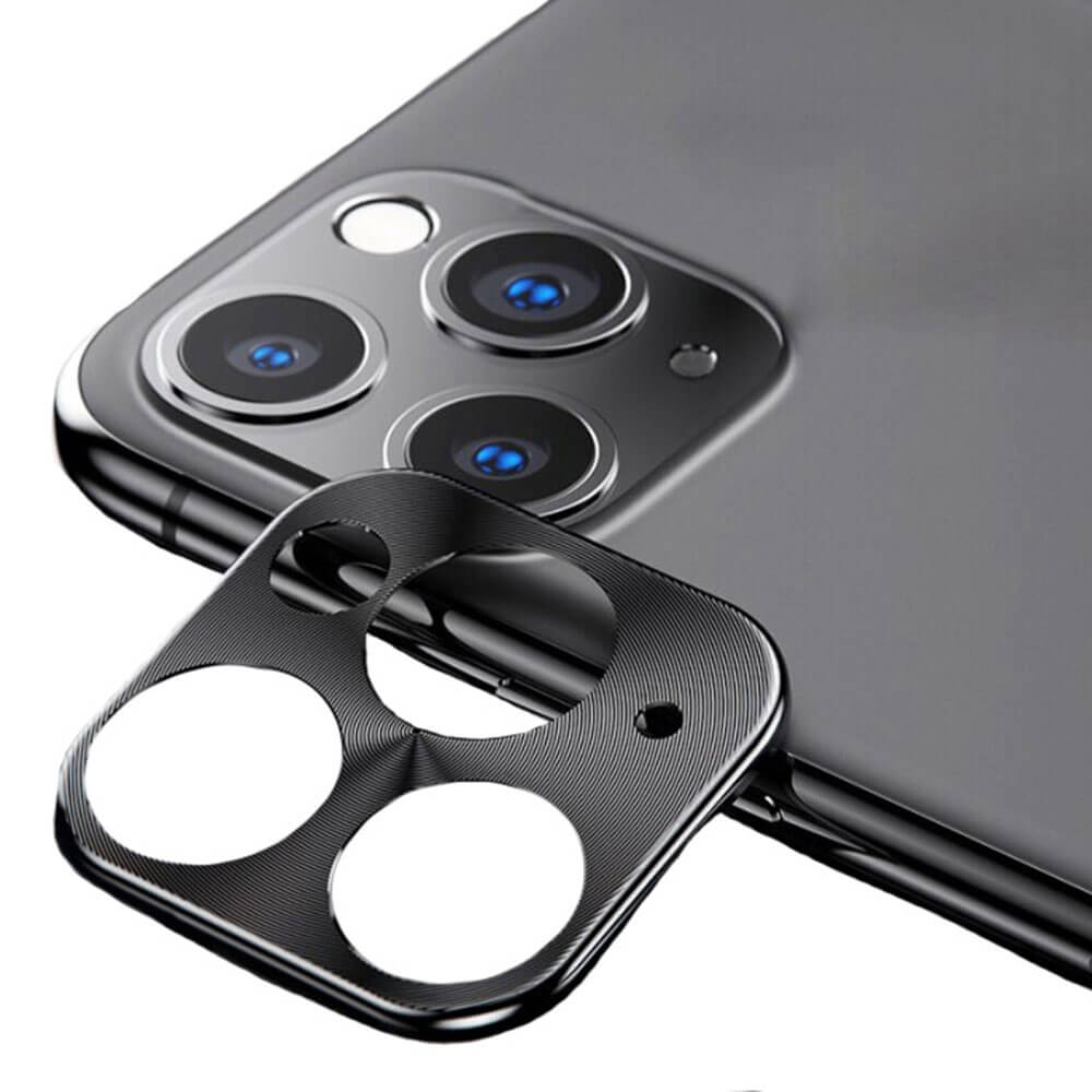 Купить Защитная рамка для камеры iPhone 11 Pro | 11 Pro Max oneLounge Lens Metal Black