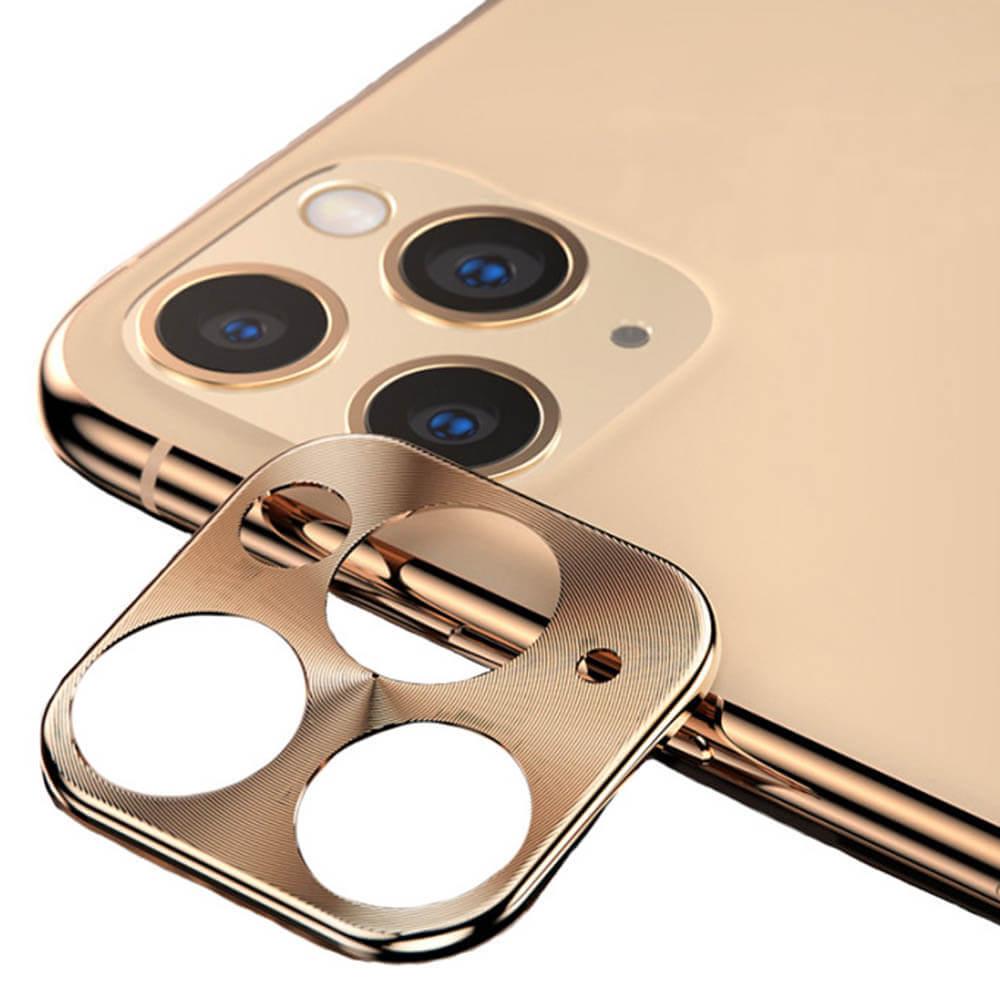 Купить Защитная рамка для камеры iPhone 11 Pro | 11 Pro Max oneLounge Lens Metal Gold