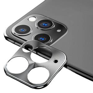 Купить Защитное стекло для камеры iPhone 11 Pro/11 Pro Max oneLounge Lens Metal Silver
