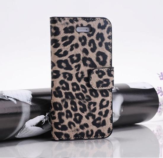 Леопардовый чехол для iPhone 5/5S/SE