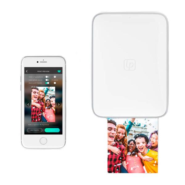 Беспроводной фотопринтер Lifeprint 3х4.5 White для iPhone (Витринный образец)