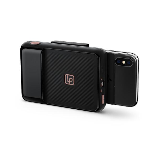 Беспроводной фотопринтер Lifeprint Instant Print Camera 2x3 Black для iPhone