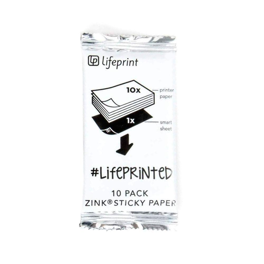 Купить Фотобумага Lifeprint Photo Film 3x4.5 (10 шт)