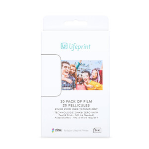 Купить Фотобумага Lifeprint Photo Film 3x4.5 (20 шт)