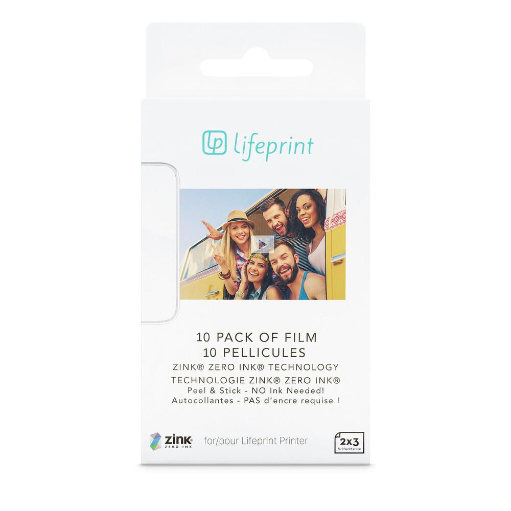 Купить Фотобумага LifePrint Photo Paper 2x3 (10 шт)