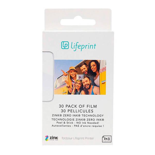 Фотобумага LifePrint Photo Paper 2x3 (30 шт) (Витринный образец)