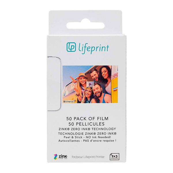 Фотобумага LifePrint Photo Paper 2x3 (50 шт)