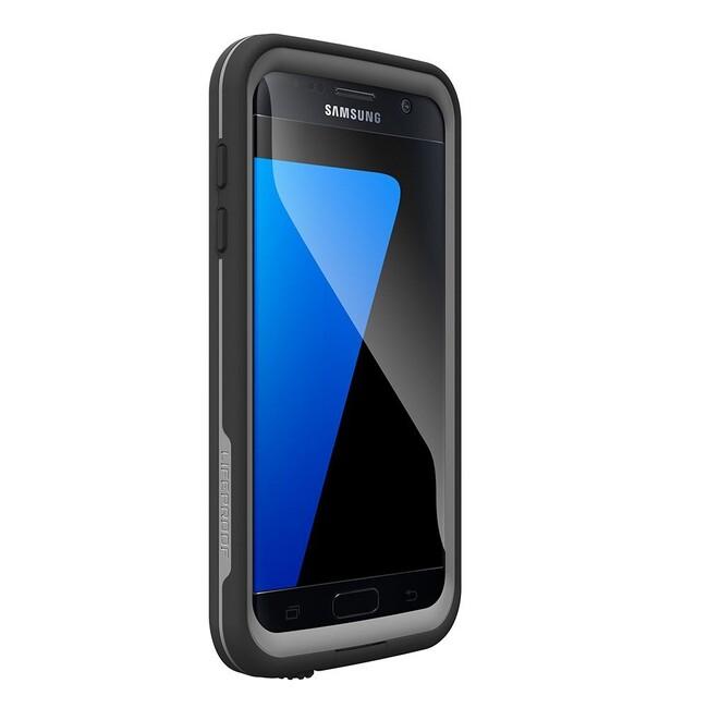 Чехол LifeProof FRĒ Black для Samsung Galaxy S7