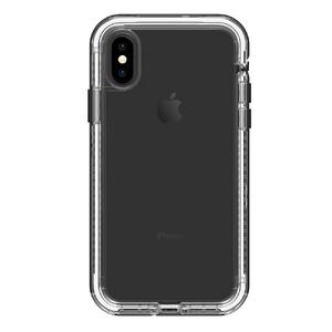 Купить Противоударный чехол LifeProof NËXT Black Crystal для iPhone X/XS