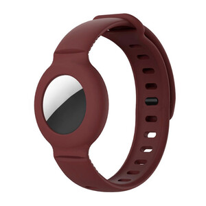 Купить Чехол-браслет iLoungeMax для AirTag Dark Red