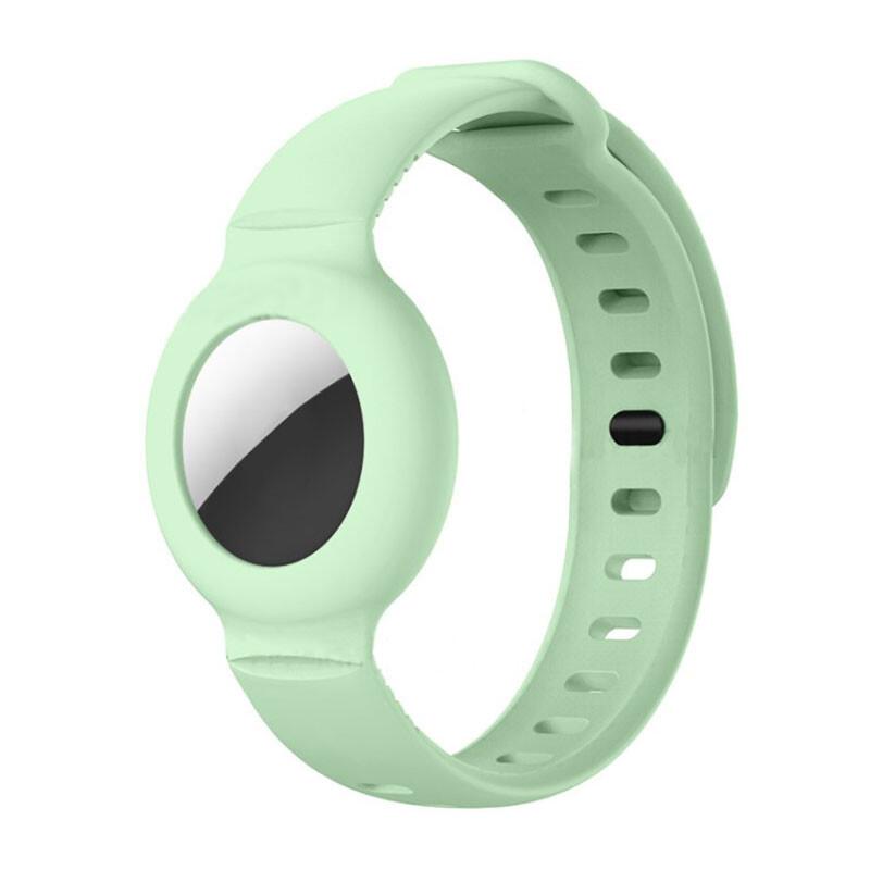 Чехол-браслет iLoungeMax для AirTag Light Green