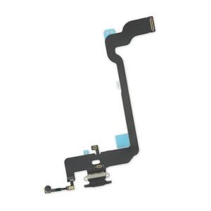Купить Шлейф с разъемом зарядки Lightning (Space Gray) для iPhone XS
