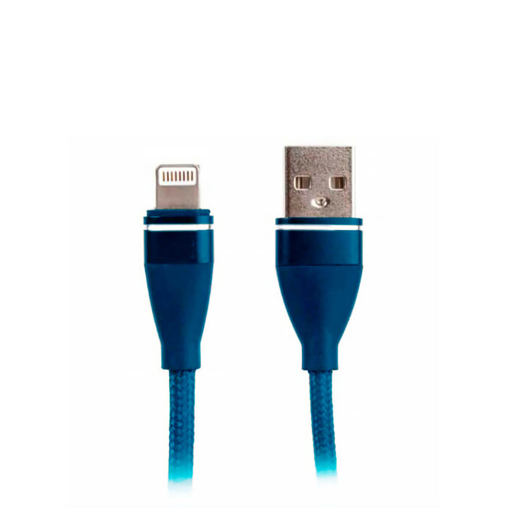 Купить Кабель oneLounge USB to Lightning Suntaiho Nylon Cable 1.2м Blue для iPhone   iPad   iPod