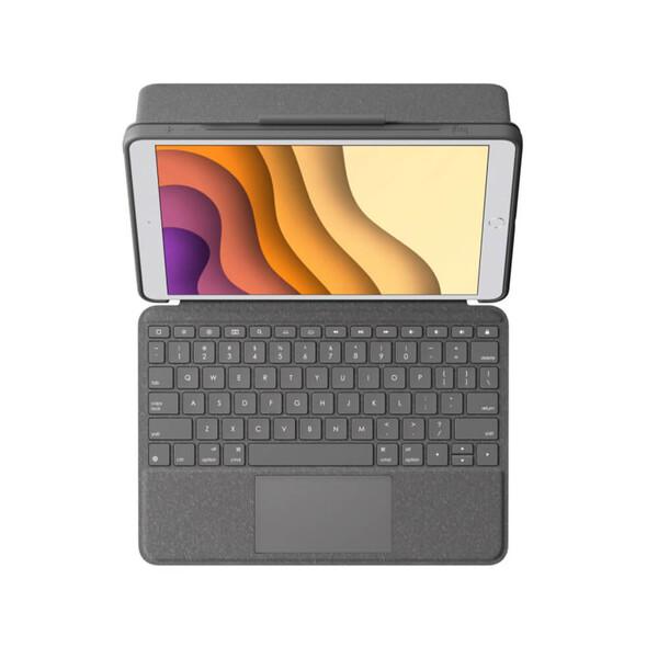"Чехол-клавиатура Logitech Combo Touch для iPad 8 | 7 10.2"" (2020 | 2019)"