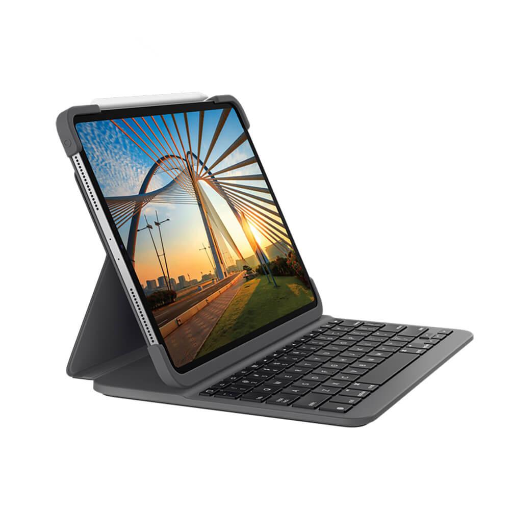 "Купить Чехол-клавиатура Logitech Slim Folio Pro для iPad Pro 11"" М1 (2021 | 2020 | 2018)"