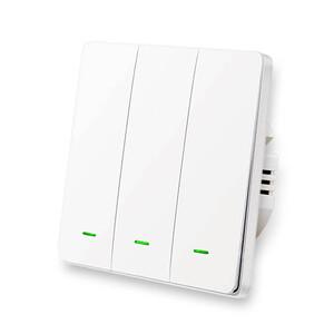 Купить Умный выключатель с нулевой линией Lonsonho X703 Apple HomeKit (тройной)