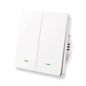 Купить Умный выключатель с нулевой линией Lonsonho X702 Apple HomeKit (двойной)