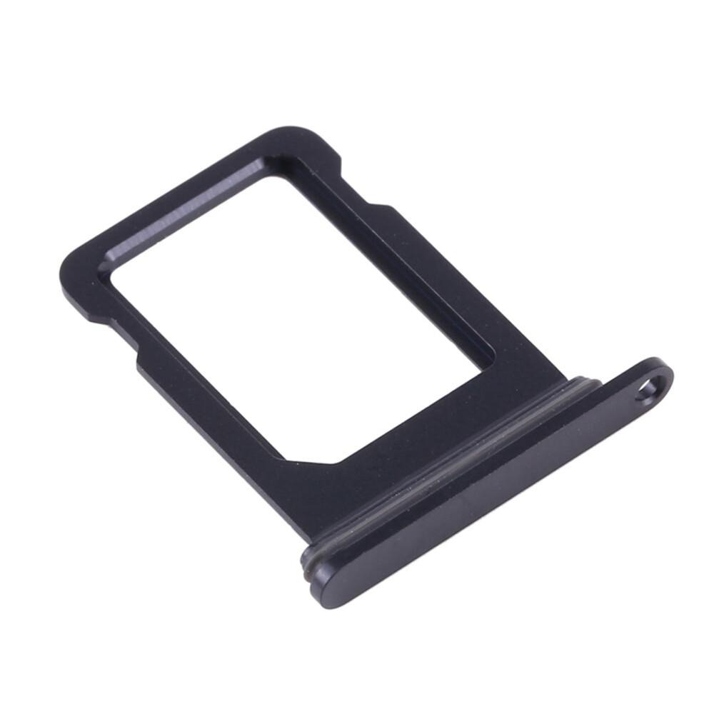 Купить Лоток SIM-карты (Black) для iPhone 12 mini