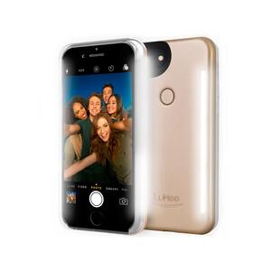 Купить Селфи-чехол с подсветкой LuMee Duo Gold для iPhone 8/7/6/6s