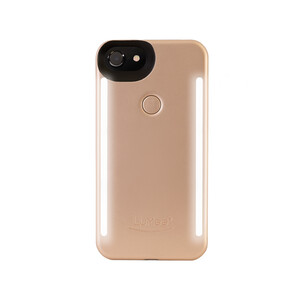Купить Селфи-чехол с подсветкой LuMee Duo Gold для iPhone 8 Plus/7 Plus/6 Plus/6s Plus