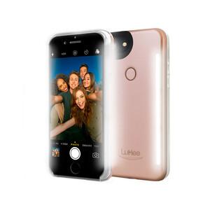 Купить Селфи-чехол с подсветкой LuMee Duo Rose для iPhone 8/7/6/6s