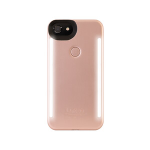 Купить Селфи-чехол с подсветкой LuMee Duo Rose для iPhone 8 Plus/7 Plus/6 Plus/6s Plus